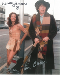 Tom Baker, Louise Jameson, John Leeson - Multi signed original autograph not a copy 10261